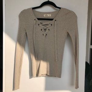 Hollister Long Sleeve Top Size XS